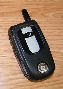 Motorola i710 - Black (Nextel) iDEN Cellular Flip Phone ...