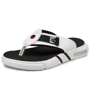 various colors affordable price shop Details about Men Flip Flops Slippers Shoes Beach Slides Outdoor Weaving  Thick Sole Sandals