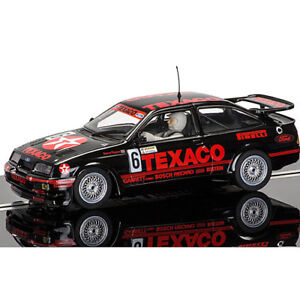 Scalextric-Slot-Car-C3738-Ford-Sierra-RS500-BTCC-1988-Marcas-Escotilla