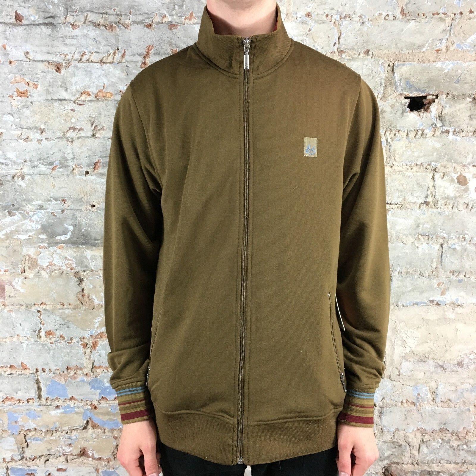 ES Granville MNS Track Jacket Brown Brand New Size S,M