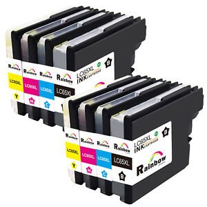 INKTONER 12PK Compatible LC61 Ink Cartridge For Brother MFC-490CW MFC-495CW MFC-J615W MFC-J630W