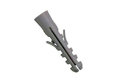 UNIVERSAL WALL RAWL PLUGS PLASTIC EXPANDABLE PLUGS 5 6 7 8 10 12mm MULTIPLE QTYS