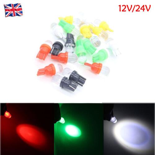 10X 12V 24V Car T10 W5W 5W5 Doon Festoon light Door Marker Bulb Reading Lamp