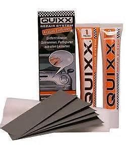 efface rayures quixx polish pour laque voiture top qualite gamme pro ebay. Black Bedroom Furniture Sets. Home Design Ideas