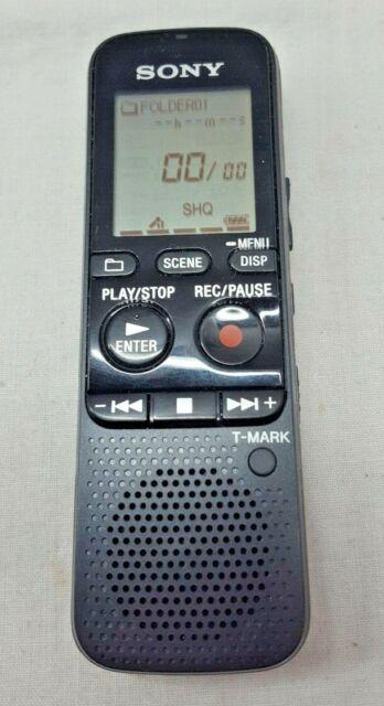 Sony Handheld Voice Recorder ICD-PX312 Black Flash Digital Memory MINT