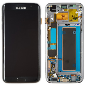 Samsung LCD Touchscreen for Galaxy S7 Edge - schwarz