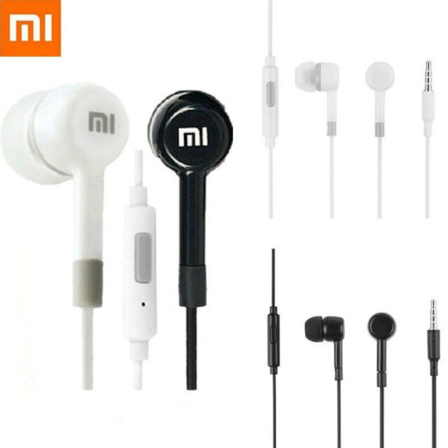 2 Color 3.5mm Jack In-Ear Earphone with Remote Microphone Xiaomi 2S Use D