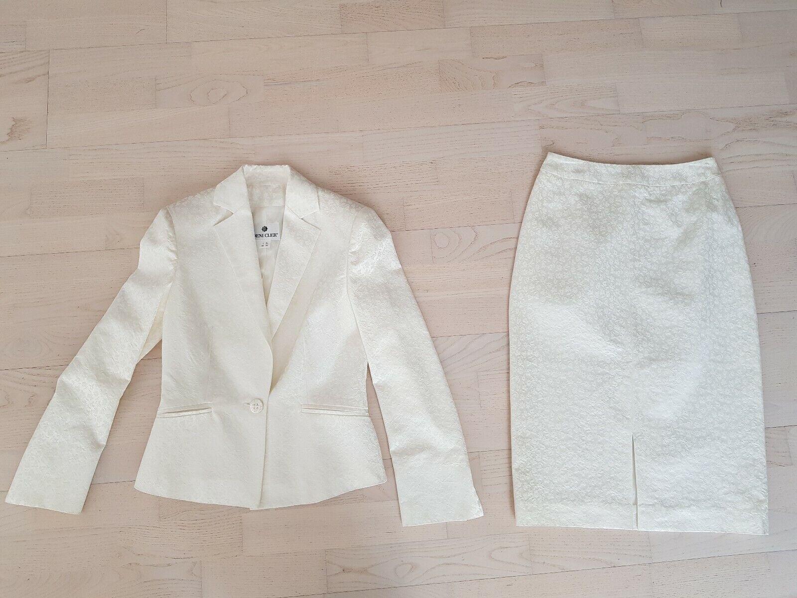 Deni options Jacquard Costume Costume Rock 34 it38 Offblanc