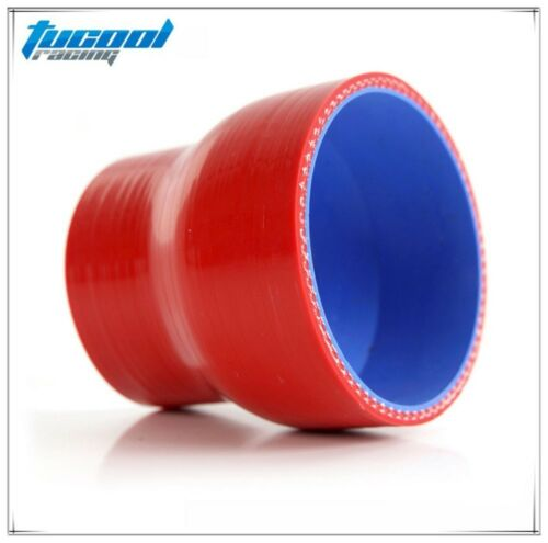 45mm to 76mm 2PCS Straight Reducer Silicone Turbo Hose Coupler 38mm 102mm