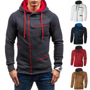 Men-039-s-Winter-Sweater-Warm-Hoodie-Hooded-Sweatshirt-Coat-Jacket-Outwear-Jumper