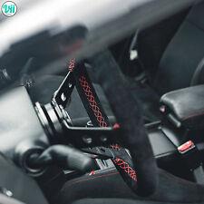 BMW E36 M3 STEERING WHEEL GENUINE SUEDE **RED STITCH** VIILANTE TOURISMO 350mm