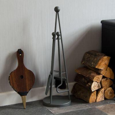 4 Piece Fire Companion Set Fireside Fireplace Shovel Brush New By Home Discount