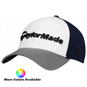New TaylorMade Golf 2017 New Era 39 Thirty Lifestyle Fitted Hat Cap ... 826ab10f70cb