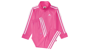 ADIDAS-new-Girls-2-PIECE-Set-Track-Suit-Jacket-Pants-infant-toddler-PINK