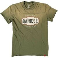 Dainese Garage Casual T-shirt T Shirt Army Military Green