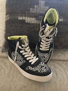 MEN'S Coach x KEITH HARING LEATHER HI