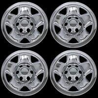 4 Chrome 05-16 Toyota Tacoma 16 Wheel Skins Hub Caps 6 Lug Steel Rim Covers