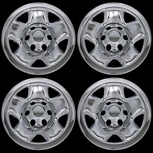 "4 New CHROME 05-16 Toyota Tacoma 16"" Wheel Skins Hub Caps ..."