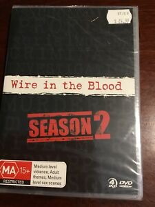 WIRE-IN-THE-BLOOD-Season-Two-New-Sealed-4-DVDs-R4-PAL