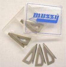 Muzzy 100 Grain 3 Blade Replacement Broadhead Blades