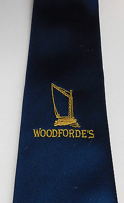 Woodfordes brewery tie tie Norfolk brewer Nelson's county vintage 1980s beer ale