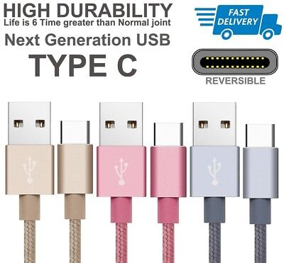 Type C Usb Charger Data Cable For Sony Xperia Xz, X Compact, L1, Xa1, Xz Premium