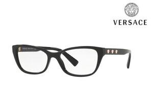 fbd3bf76fe6 Image is loading VERSACE-Glasses-Frames-VE3249-GB1-Black-RRP-170