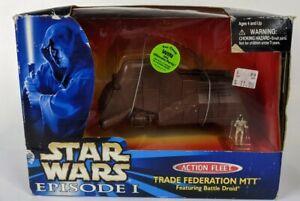 STAR WARS ACTION FLEET EPISODE 1  TRADE FEDERATION TANK /& BATTLE DROID