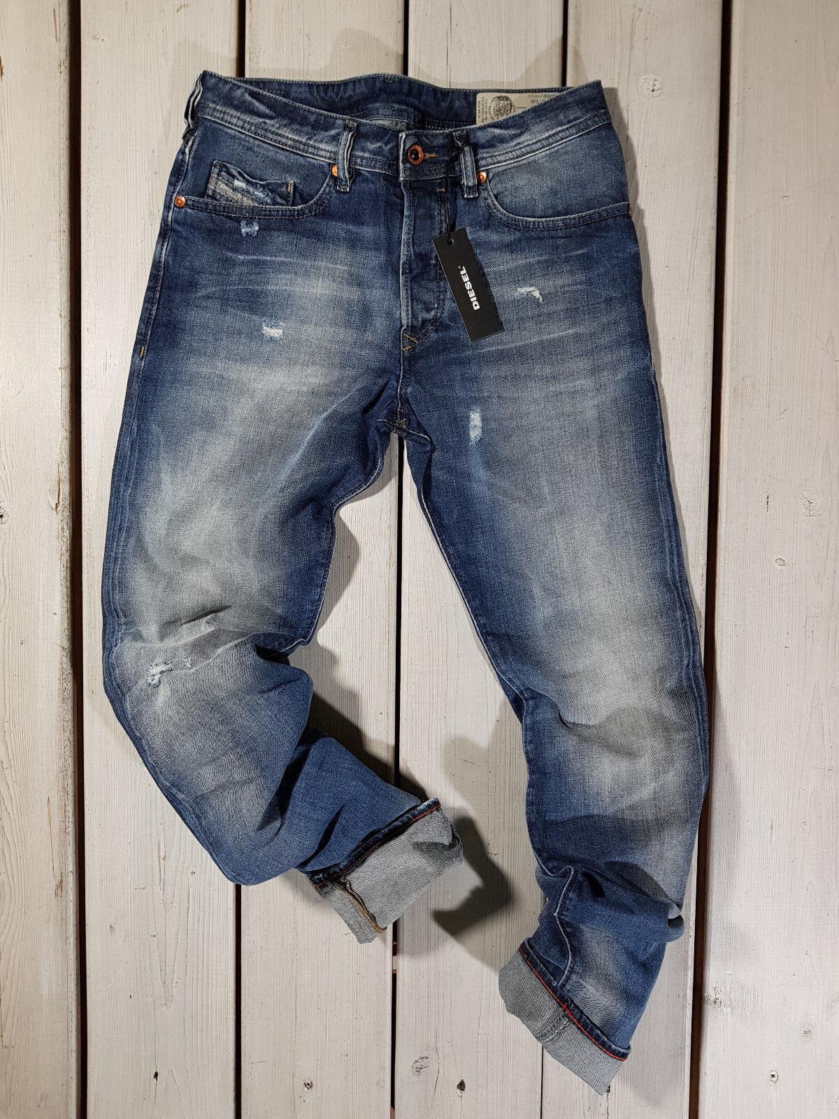 Neu Diesel HERREN Jeans Buster 084dd Normale Passform Konisch Blau    Marke    Verpackungsvielfalt    Der Schatz des Kindes, unser Glück