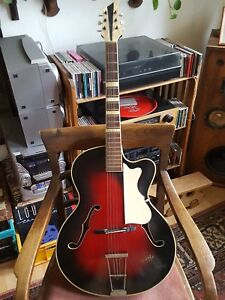 Gitarre Lyric 1802 Gibson Art 50iger Jahre Rocke Billy Sammlerstück Perlmutt NüTzlich FüR äTherisches Medulla Akustische Gitarren Musikinstrumente