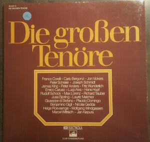 """Die großen Tenöre- Club Sonderauflage 12"""" LP Klappcover Doppelalbum - Osnabrück, Deutschland - Die großen Tenöre- Club Sonderauflage 12"""" LP Klappcover Doppelalbum - Osnabrück, Deutschland"""
