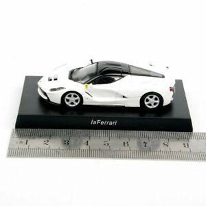 1-64-Scale-KYOSHO-White-LaFerrari-Diecast-Model-Mini-Cars-Collecte-Vehicles-Toys