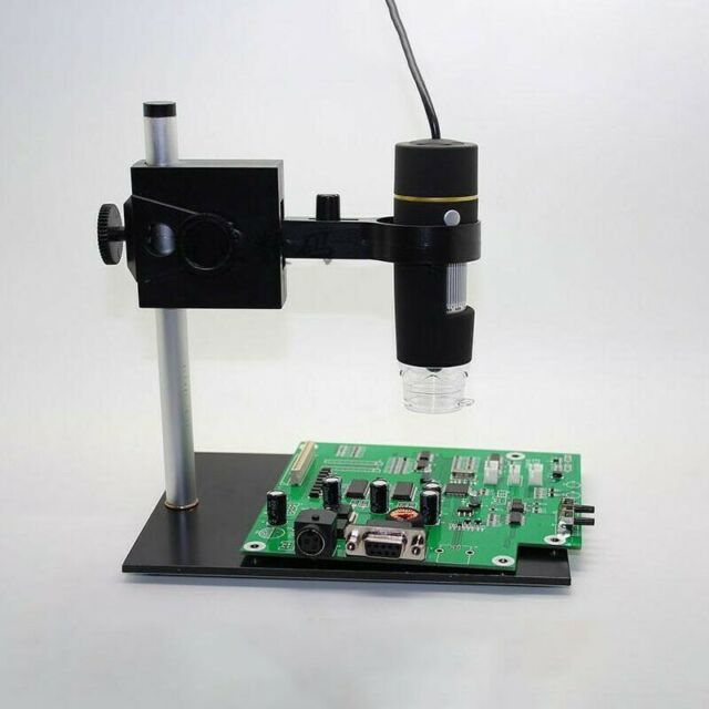 1000X USB Digital Camera Microscope 8 LED Magnifier Manual Focus for PCB Repair