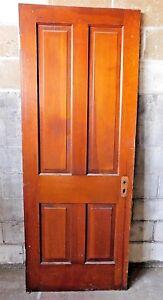 Image Is Loading Antique Victorian Style Interior Door Circa 1895 Fir