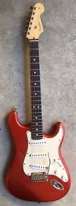 2003-Fender-Stratocaster-American-Standard-Rosewood-Neck-USA-Candy-Apple-Red