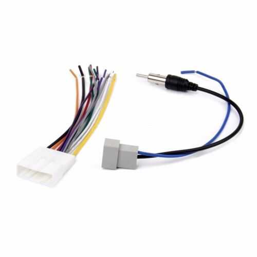 Fits select Nissan Factory Antenna Cable// Aftermarket Car Radio Harness Cable