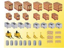 Kibri 38647 elementos decorativos-set pequeño contenedor y enormemente kit h0 1:87 nuevo