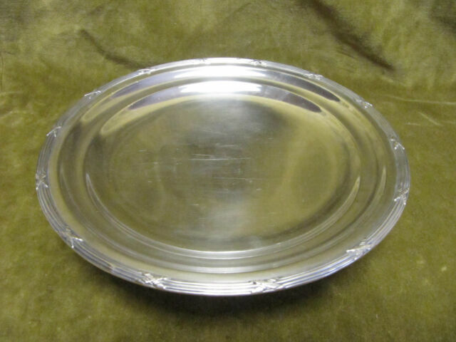 Early 20th c french sterling silver minerve footed fruit bowl 380g Louis XVi st