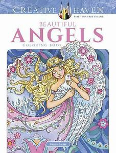 Adult Coloring Creative Haven Beautiful Angels Book By