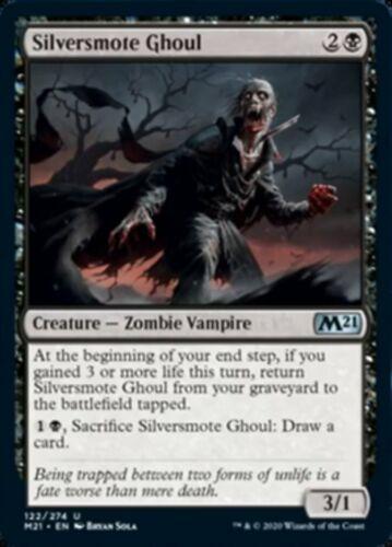 MTG x4 Silversmote Ghoul  Core Set 2021 Uncommon NM//M PRESALE JULY 3rd