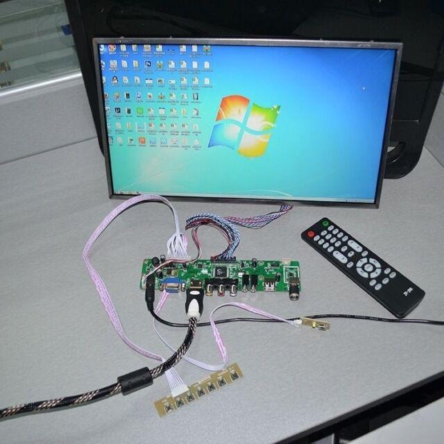 V.M70A VGA Driver Controller Board For LTN156AT01 N156B3-L0B 1366x768 LCD Screen