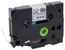 Brother HSe231 Shrink Tube Black on White - Fits PT-E300 PT-E500 PT-E550W