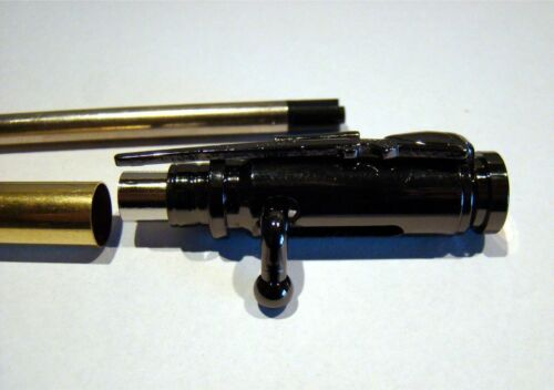 Bausatz Gewehr Jäger 939 Kugelschreiber Bolt Action Mini Gun Metal