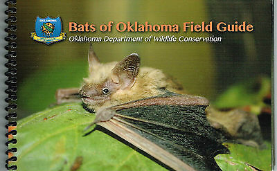 Bats of Oklahoma Field Guide; Illustrated Spiral Bound Nature Book