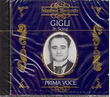 Beniamino Gigli: In Song Prima Voce - CD