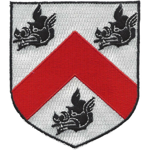 Family Coat Of Arms Boars Patch
