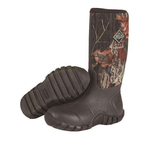Muck  FieldBlazer Unisex Mossy Oak Break up Camo Hunting Boots
