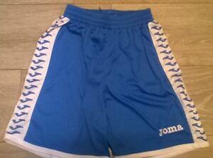 Chicos Joma Azul Blanco Pantalones Cortos De Deporte Nuevo 6 8 Anos Cintura 20 24 Ebay