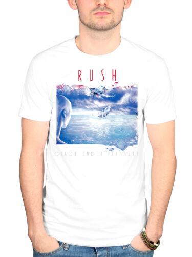 Official Rush Grace Under Pressure T-Shirt Rock Band 1994 Tour Merch Geddy Lee