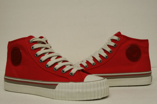 PF Flyers Center Hi Reiss Red Shoes PM11OH2E Mens 4.5,5,5.5,6 Womens 6,6.5,7,8.5